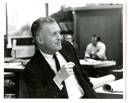 My grandfather in his studio, Tiburon, CA